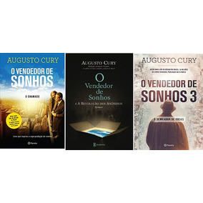 Kit 3 Livros Vendedor De Sonhos Augusto Cury