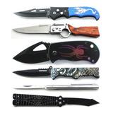 Kit Com 10 Peças Canivete Esportivo Varios Modelos A Sua Esc