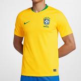 Camisa Nike Cbf Seleção Brasil I 2018 19 Torcedor Nfe Freecs cf455829f0fed