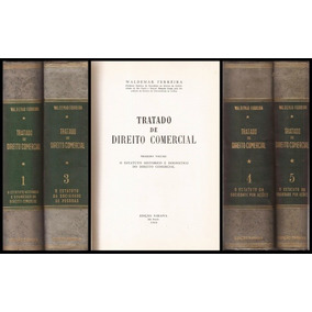Tratado De Direito Comercial Waldemar Ferreira 15 Volumes
