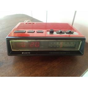 Radio Relógio Sanyo Rm 5500 N - Funcionando