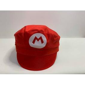 Bone Ou Boina Do Luigi Personagem Do Mario Bros - Brinquedos e ... 6a847363a99