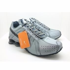 433739e7a57c5 Nike Shox 12 Molas Tlx Vermelho E Prata Modelo Antigo - Tênis no ...
