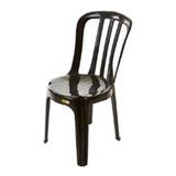 Cadeiras Plasticas Bistrô Preta ( 10 Unidades )