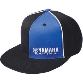 Gorra Factory Effex Yamaha Hombre Flexfit Negro azul Lg xl 93ffa4bdfdb