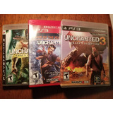 Uncharted Coleccion 1,2,3 Ps3