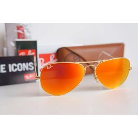 Oculos Rayban Aviador Lente Laranja De Sol - Óculos no Mercado Livre ... 309c1e76c9