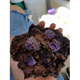 Hermosa Fluorita, Mineral De Ojuela Durango Mexico