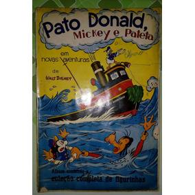 Álbum De Figurinhas Disney Pato Donald, Mickey E Pateta