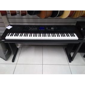 piano digital yamaha dgx 530 instrumentos musicais no mercado livre brasil. Black Bedroom Furniture Sets. Home Design Ideas