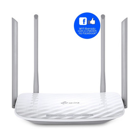 Roteador Tplink Ac1200 Archer C50 V4 Check-in Facebook