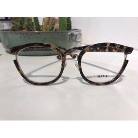 fce0083b3 Oculos De Grau Dita - Óculos Marrom no Mercado Livre Brasil