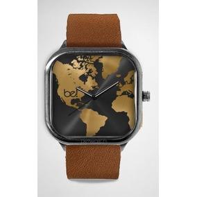 8dcdac56ce9 Relogio Feminino Mapa Mundi Caixa 46 Mm - Relógios De Pulso no ...