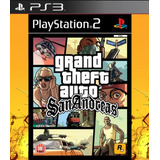 Grand Theft Auto: San Andreas Clasico Ps2 - Para Ps3 | Vgm