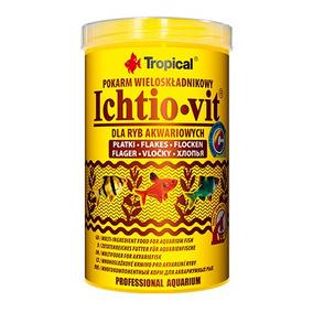 Ração P/ Peixes Tropical Ichtio Vit 50g