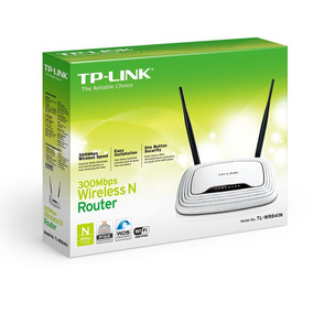 Router Inalambrico Tp-link Ti-wr841nd De 300mbps Wifi.
