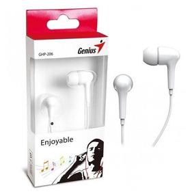 Audifonos Genius Auriculares Intrauditivos Ghp-206 3.5mm 1.2