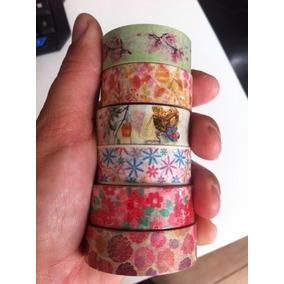 Washi Tape Florais- Fita Adesiva - Decotape