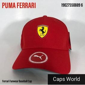 Boné Ferrari Oficial - Calçados 8fc3ac68428