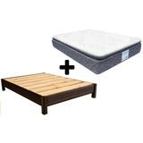 Base Cama Box Tactopiel + Colchon King Size Restonic Confort