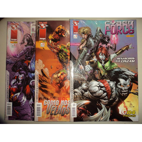 Cyber Force 1 2 3 Completa Panini 2007 Excelentes
