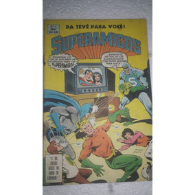 Superamigos N°1 Ebal Ano 1978 Original