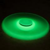 Divertido Fidget Hand Spinner Verde Glow Brilha No Escuro