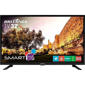 Smart Tv Led 32 Britânia Btv32 Nova Na Caixa
