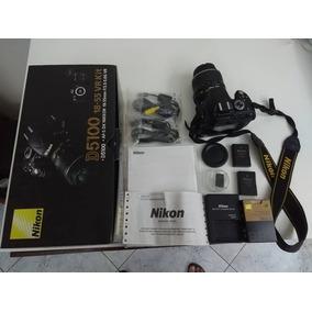 Câmera Dslr Nikon D5100 + Lente 18-55mm + Bateria Extra