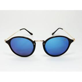 e4ee055126efb Óculos De Sol Feminino Vezatto Espelhado Azul H01455 C7 · R  120