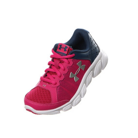 Under Armour Gps Assert 6 Tenis Running Infantiles 17.5 Mex