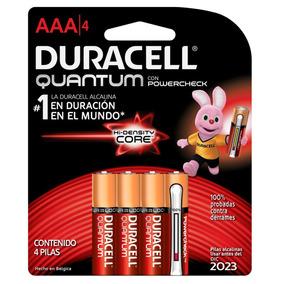3 Paquetes Pila Duracell Quantum Aaa Con 4 Pilas C/u