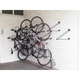 Kit 5 Suportes De Parede Para Bicicletas Bicicletario Forte