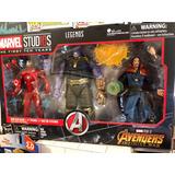 Marvel Legends Cinematic Universe 10th Anniv Thanos Iron Man