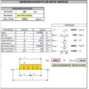Planilhas De Engenharia Em Excel Para Engenheiros