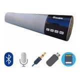 Barra Sonido Bluetooth 40cm Pantalla Led 10w Usb, Fm, Sd + O