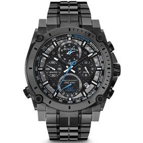 Reloj Bulova Carbón 100% Original Con Garantia De 1 Año