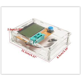 Medidor Esr Lcr T4, Capacímetro + Case + Bat + Frete Grátis