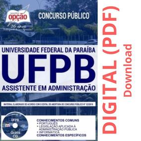 Apostila - Assistente Em Administração - Concurso Ufpb