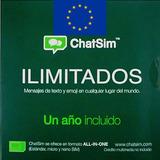 Chatsim Chip Tarjeta Sim Para Todo Europa