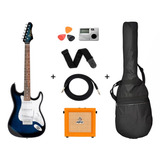 Guitarra Electrica Texas + Amplificador Orange + Accesorios