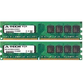 A-tech 2gb Kit 2x 1gb Hp-compaq Negocios Dc5800 Dc5850 Dc77
