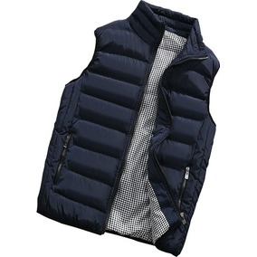 Chaleco Casual Para Hombre Impermeable Slim Plus Jacket Moda