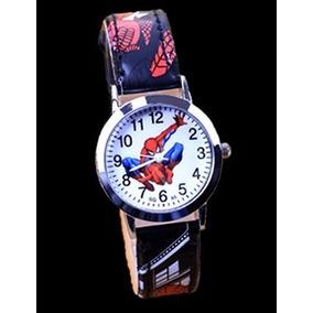 338bafcfb88 Homem Aranha Relogio Pulseira Teia - Relógios De Pulso no Mercado ...