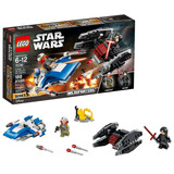 Lego - Star Wars Microfighters A-wing Vs Tie Silencer 75196