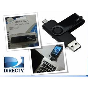 Pendrive 32gb 2en1 Microusb/usb Compatible Directv