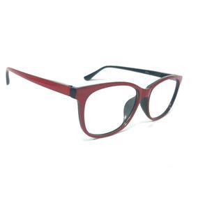 e195241cac718 Armação Óculos Grau Feminino Quadrado Gatinho Acetato 2066