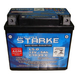 Bateria Moto Starke Ytx5l-bs Titan 125 Es Biz 100 Es Bros Cg