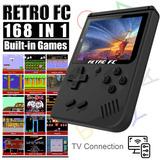 Game Boy Retro Color 168 Juegos, Conecta Al Tv + Obsequio