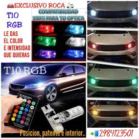T10 Rgb Alta Potencia, Luz Led 12v Auto Y Moto. Envio Gratis